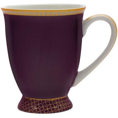 Maxwell & Williams Teas & Cs Kasbah Footed Mug Violet