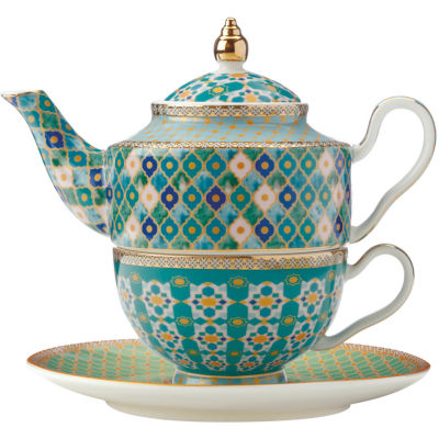Maxwell & Williams Teas & Cs Kasbah Tea For One Set & Infuser Mint