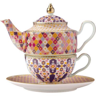 Maxwell & Williams Teas & Cs Kasbah Tea For One Set & Infuser Rose