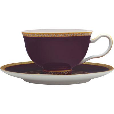 Maxwell & Williams Teas & Cs Kasbah Teacup & Saucer Violet