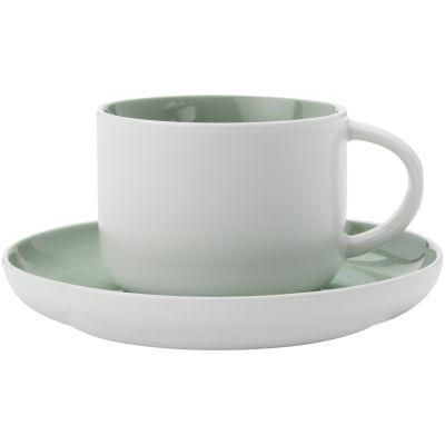 Maxwell & Williams Tint Cup & Saucer Mint