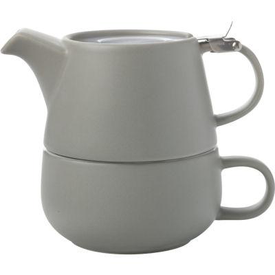 Maxwell & Williams Tint Tea For One Grey