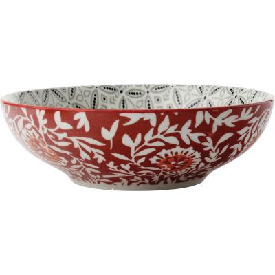 Maxwell & Williams Boho Pasta Bowl 18cm Batik Grey