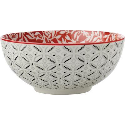 Maxwell & Williams Boho Rice Bowl 12.5cm Damask Red