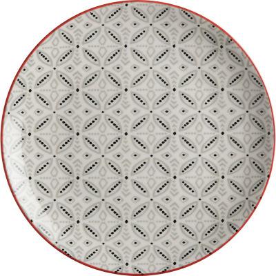 Maxwell & Williams Boho Side Plate 20cm Batik Grey