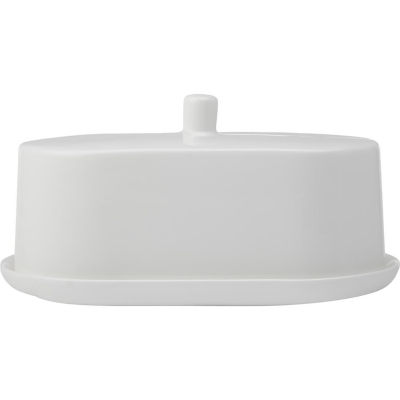 Maxwell & Williams Cashmere White Covered Butter Dish