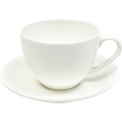 Maxwell & Williams Cashmere White Teacup & Saucer