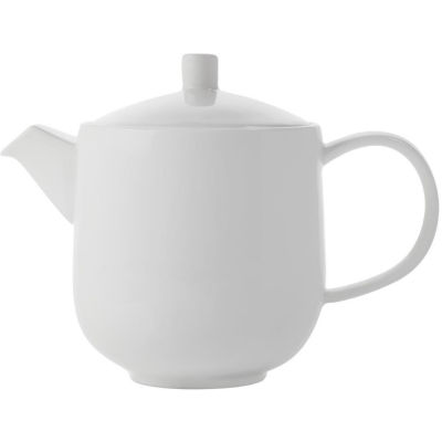 Maxwell & Williams Cashmere White Teapot Tall