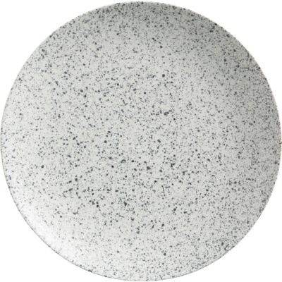 Maxwell & Williams Caviar Coupe Plate 27.5cm Speckle