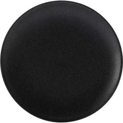 Maxwell & Williams Caviar Coupe Plate 27.5cm Matt Black