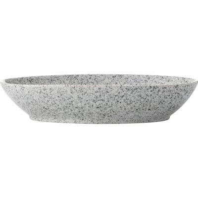 Maxwell & Williams Caviar Oval Bowl 25cm Speckle