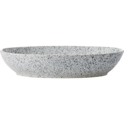 Maxwell & Williams Caviar Oval Bowl 30cm Speckle