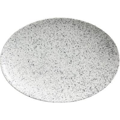 Maxwell & Williams Caviar Oval Plate 30cm Speckle