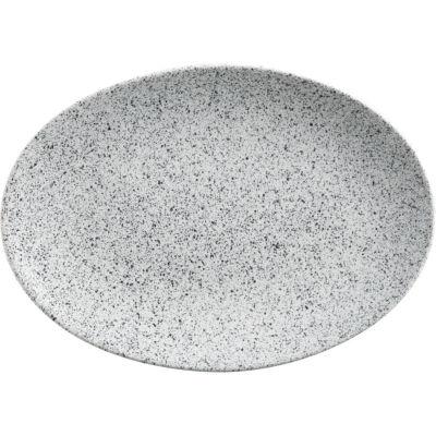 Maxwell & Williams Caviar Oval Plate 35cm Speckle