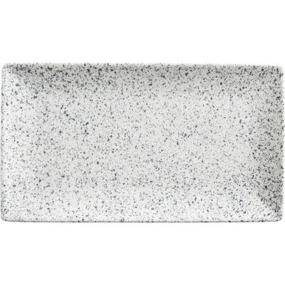 Maxwell & Williams Caviar Rectangular Serving Platter 34.5cm Speckle