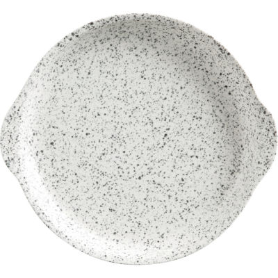 Maxwell & Williams Caviar Round Handled Serving Dish 22.5cm Speckle