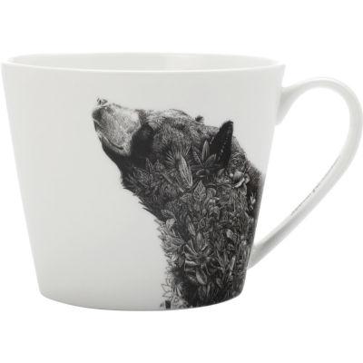 Maxwell & Williams Marini Ferlazzo Mug Short Asiatic Black Bear