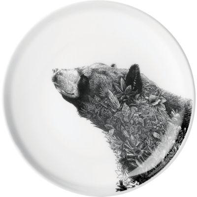 Maxwell & Williams Marini Ferlazzo Plate 20cm Asiatic Black Bear