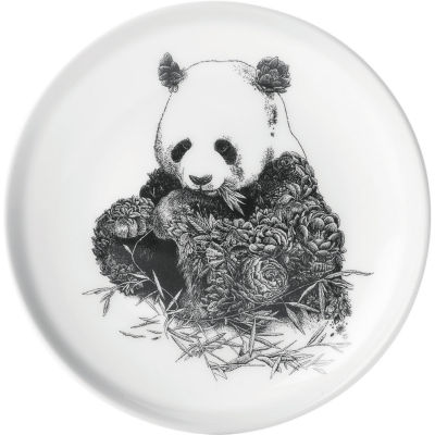 Maxwell & Williams Marini Ferlazzo Plate 20cm Panda