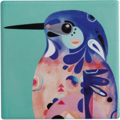 Maxwell & Williams Pete Cromer Coaster Kingfisher