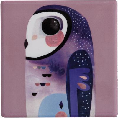 Maxwell & Williams Pete Cromer Coaster Owl