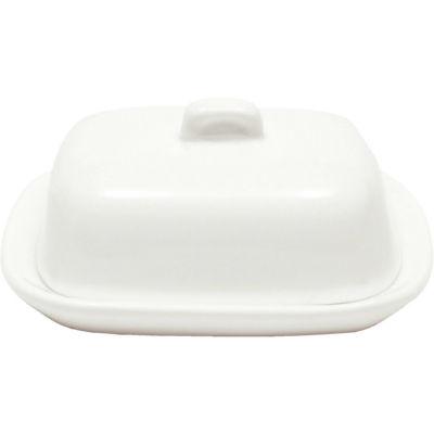 Maxwell & Williams White Basics Butter Dish Mini