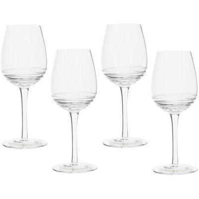 Mikasa Ciara White Wine Glass Set of 4