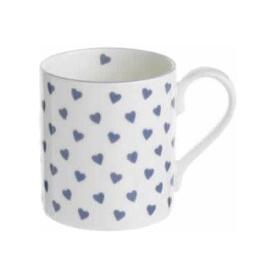 Nina Campbell Blue Heart Mug