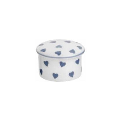 Nina Campbell Blue Heart Trinket Box Small