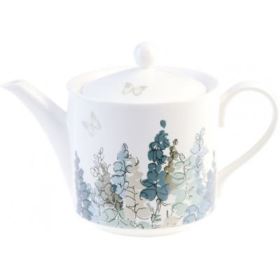 Nina Campbell Fairfield Blue Teapot