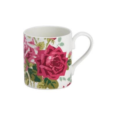 Nina Campbell Rosa Alba Mug Larch Rosa
