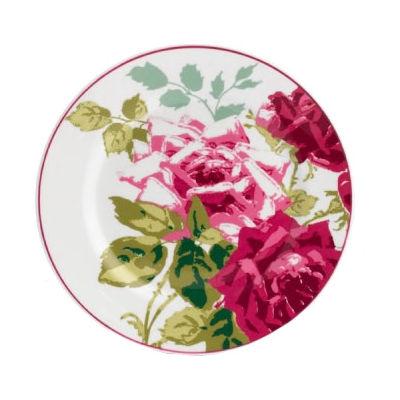 Nina Campbell Rosa Alba Tea Plate 22cm