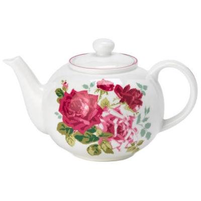 Nina Campbell Rosa Alba Teapot Large