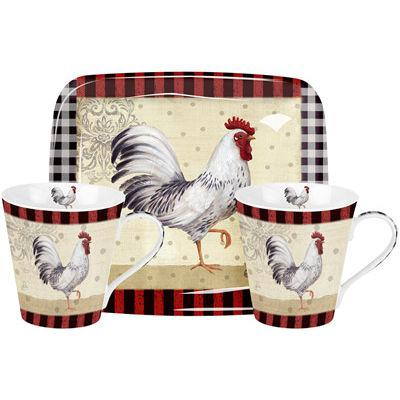 Pimpernel Animals Country Touch Mug Amp Tray Set Louis Potts