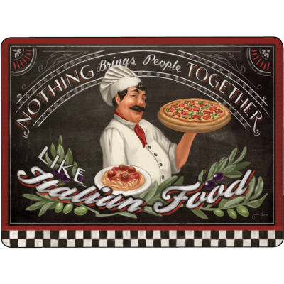 Pimpernel Food and Drink Chef's Specials Placemats Set of 4