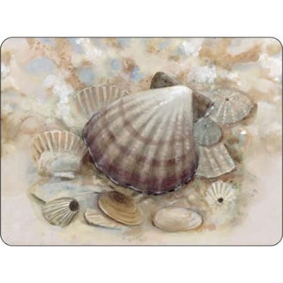 Pimpernel Scenic and Decorative Beach Prize Placemats Set of 6
