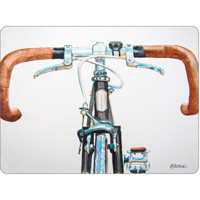 Pimpernel Scenic and Decorative Bicycle Placemats Set of 6