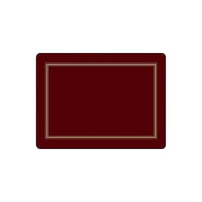 Pimpernel Scenic and Decorative Classic Burgundy Placemats Set of 4