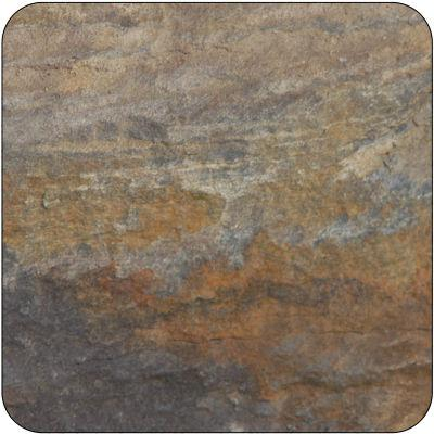 Pimpernel Scenic and Decorative Earth Slate-Effect Coasters Set of 6