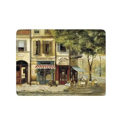 Pimpernel Scenic and Decorative Parisian Scenes Placemats Set of 6