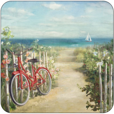 Pimpernel Scenic and Decorative Summer Ride Coasters Set of 6