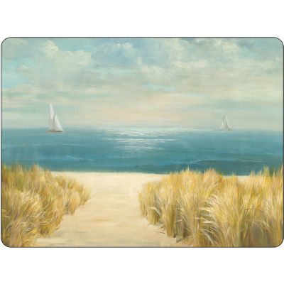 Pimpernel Scenic and Decorative Summer Ride Placemats Set of 4