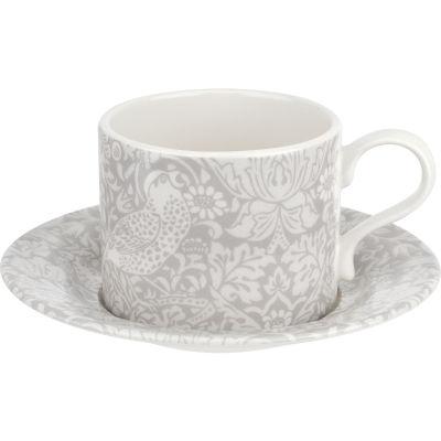Pimpernel William Morris Pure Morris Teacup & Saucer Strawberry Thief