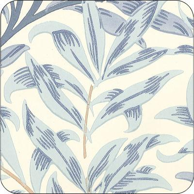 Pimpernel William Morris Willow Bough Blue Coasters Set of 6