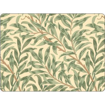 Pimpernel William Morris Willow Bough Green Large Placemats Set of 4