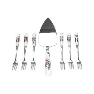 Portmeirion Botanic Garden Cake Slice & Pastry Fork Set