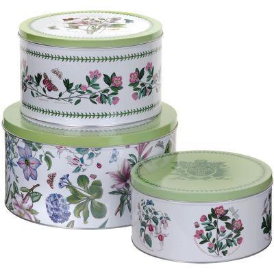 Portmeirion Botanic Garden Cake Tin Set of 3