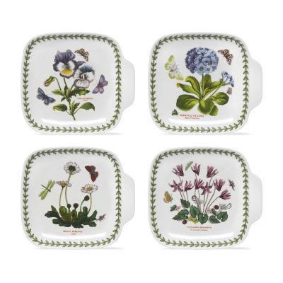 Portmeirion Botanic Garden Canape Dish Set of 4