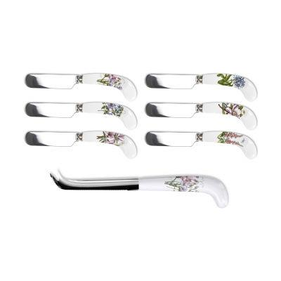 Portmeirion Botanic Garden Cheese Knife & Spreader Set
