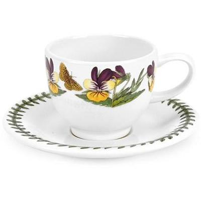 Portmeirion Botanic Garden Espresso Cup & Saucer (SO)